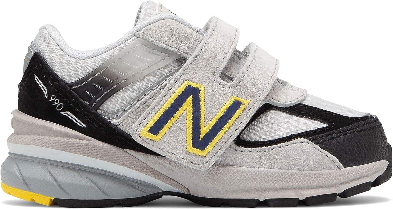 New Balance 990v5 Zapatillas para Correr con Velcro para niños ...