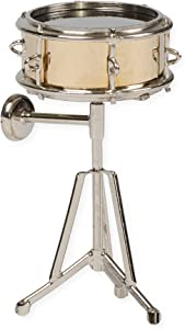 Snare Drum Miniature Replica Light Wood Tone 1.5 x 3 Resin Refrigerator Magnet