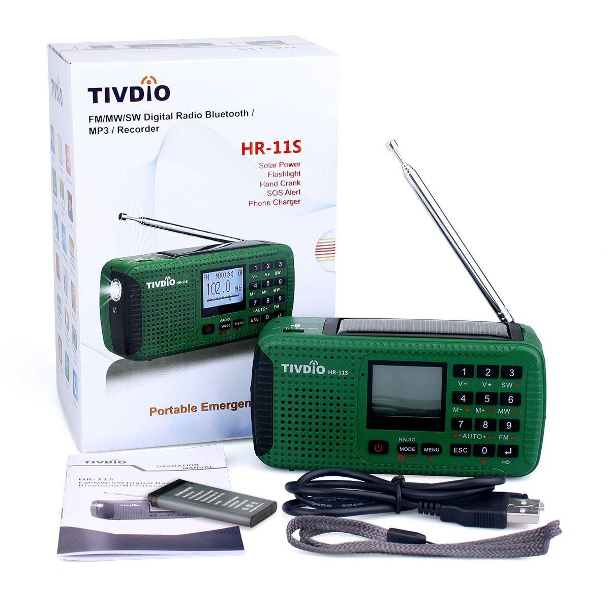 Tivdio HR-11S Solarradio