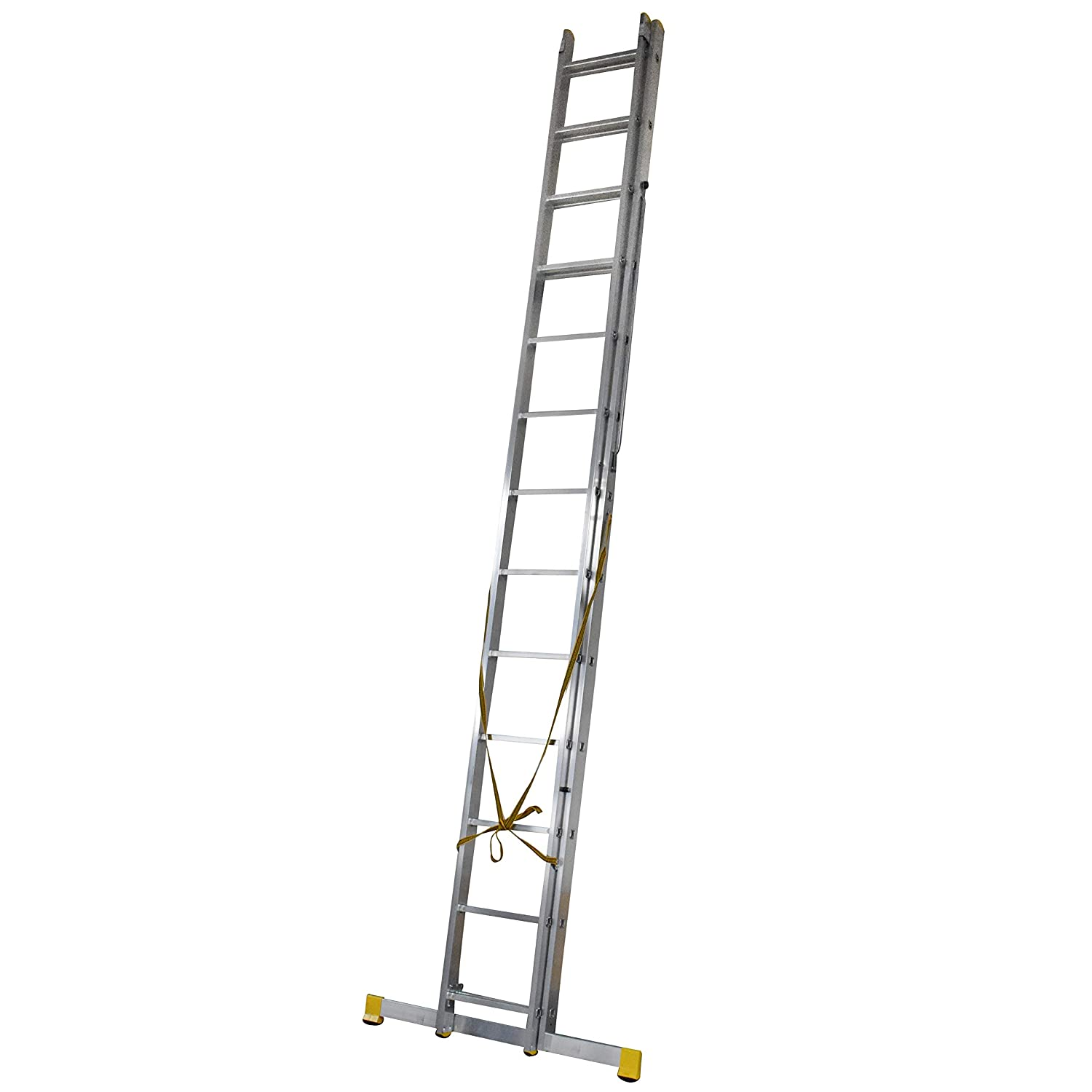 624m 2 Section Extension Ladder Ladders With Integral Stabiliser Amazoncouk DIY Tools