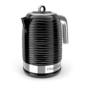 Russell Hobbs KE4200BR Coventry Electric Tea Kettle, 1.7L, Black