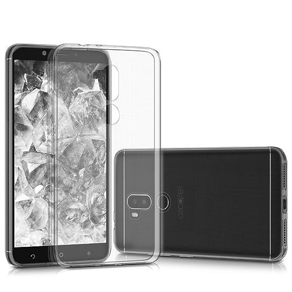 best cheap d75e6 360c6 Amazon.com: kwmobile Crystal Case for Alcatel A7 XL - Soft Flexible ...