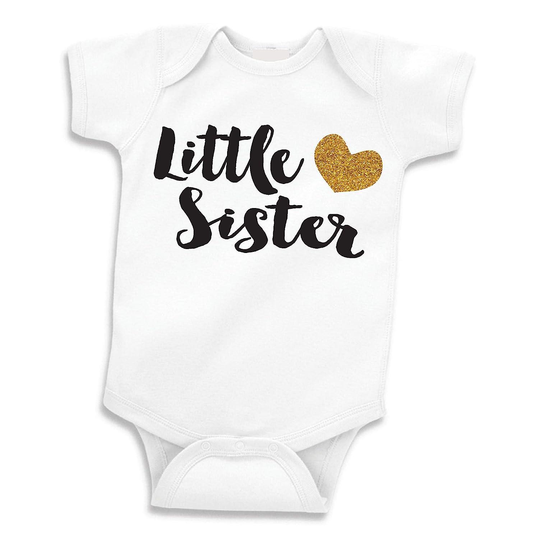 Little Sister Shirt  Big Sister Shirt  Little Sister Bodysuit  Big Sister Bodysuit Big Sister Announcement  Baby Announcement  Girls