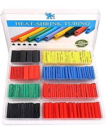Black and Red Heat shrink 20CM X 6 sizes RoHS flame retardant smokeless PE Tube