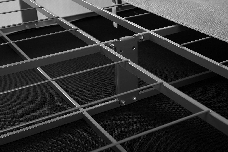 Zinus Jayanna 9 Inch BiFold Box Spring / Mattress Foundation / Zero Assembly / Sturdy Metal Structure / High Profile…