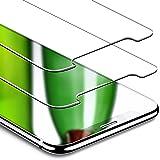 """Pellicola Protettiva iPhone X, """"NON COMPRARE CON ALTRI VENDITORI"""", ESR Pellicola Vetro Temperato [2 Packs][Anti-Graffo/Olio/Impronta] Face ID Compatibile per Apple Nuovo iPhone X da 5.8 Pollici (Uscito a 2017)."""