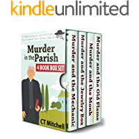 Murder in the Parish: Father Douglas Cozy Mysteries: 4 Book Box Set (Christian Fiction Collections & Anthologies 1)