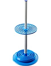 United Scientific 79103 Polypropylene Rotary Pipette Stand, 94 Place