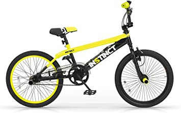 MBM BMX Istinct, Bicicleta de Freestyle Unisex Niños, Amarillo A29 ...