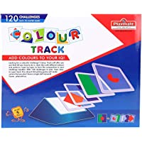 JAY ANTIQUES Playmate Acrylic Colour Track 120 Challenges IQ Building Game Playmate Colour Track, Add Colour to Your IQ!