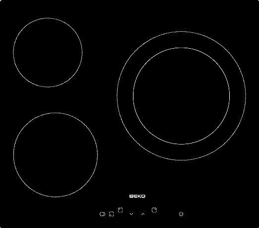 Beko OSE 22120 X - Conjunto De Horno Multifunción + Placa Vitrocerámica Ose22120X