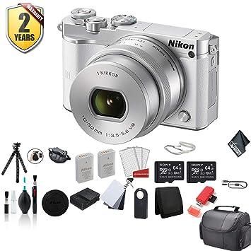 Amazon.com: Nikon 1 J5 - Kit de cámara digital sin espejo ...