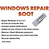 Repair and Recovery Software on a USB, Works with Windows 10 / 8.1 / 8 / 7