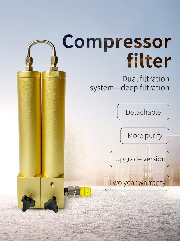 Filtro de compresor de buceo, filtro de compresor PCP, filtro ...