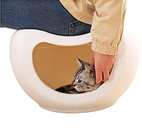Casa del Animal Doméstico Abertura Portable Gato Juego Cama Asiento Almacenamiento Adecuado para Gatos Y Perros