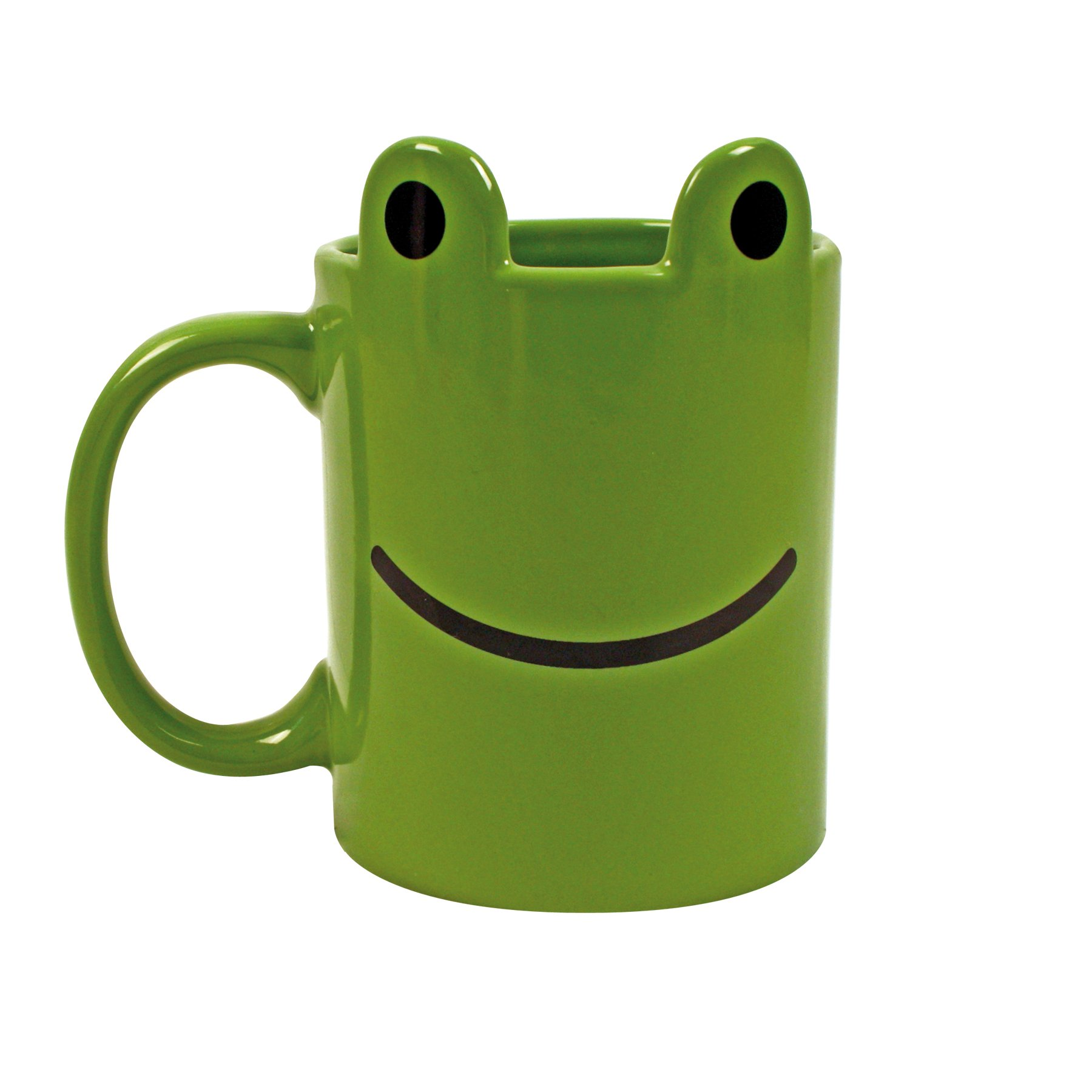 Gift Republic GR400012 Animal Frog Mug, Multicolor