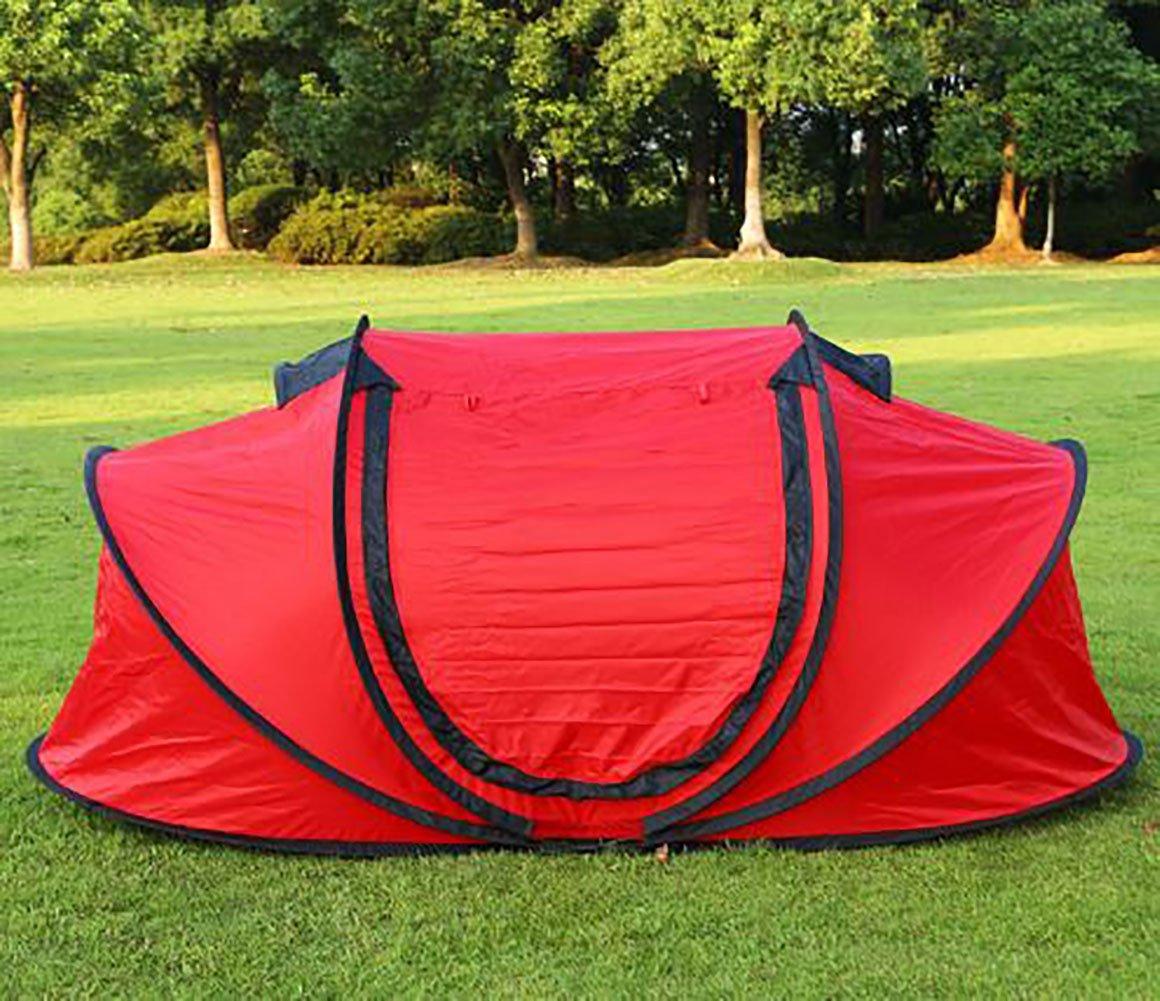 Barato KOKR Automático Impermeable Tienda de Campaña Familiar 3-4 Personas, Tienda de UV Resistente para Playa Sol Solar, Camping, Pesca