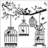 Crafters Workshop Crafter's Workshop Template, 6 by 6-Inch, Birds of a Feather