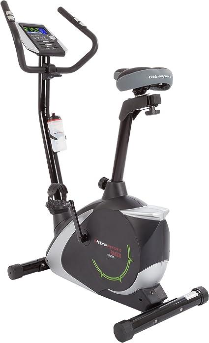 Ultrasport Bicicleta estática Racer 800A con sensores de pulso de ...