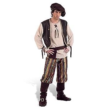 Limit Sport - Disfraz de tabernero medieval para adultos, talla M (MA856)