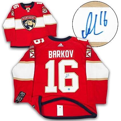 Aleksander Barkov Florida Panthers Autographed Adidas Authentic Hockey  Jersey d925db882