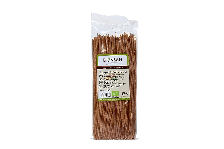 Bionsan Espaguetis Integrales de Espelta - 6 Paquetes de 500 gr - Total: 3000 gr: Amazon.es: Alimentación y bebidas