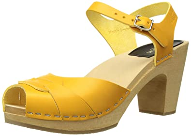 bfe335ae4d4888 swedish hasbeens Women s Peep Toe Super High Heeled Sandal