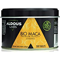 Extracto de Pura Maca Andina Ecológica Premium para 9 meses | 300 comprimidos de 2500mg | Altamente concentrada 10:1…