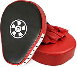 XGEEK 2PCS Punch Mitts Boxing Focus Training Pads for Children Kids Men Women Karate Muay Thai