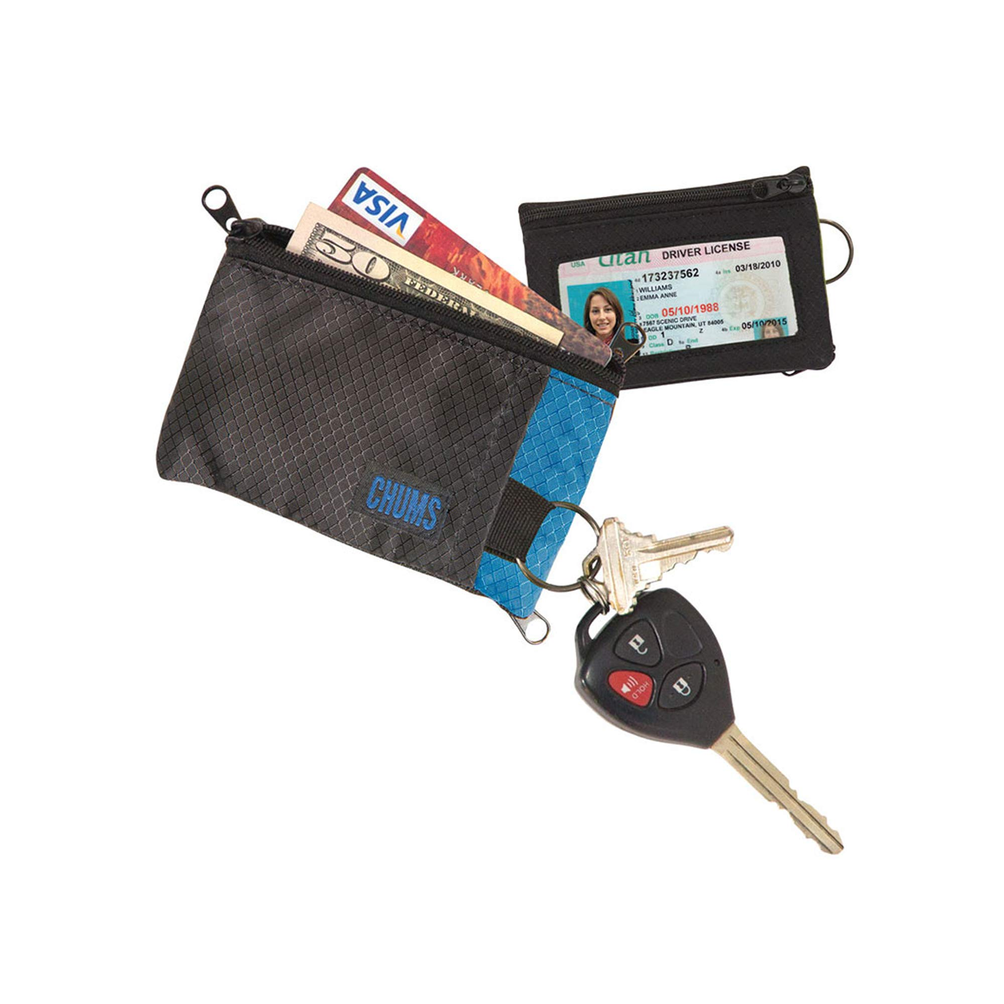 Chums Surfshort Wallet Ocean Blue