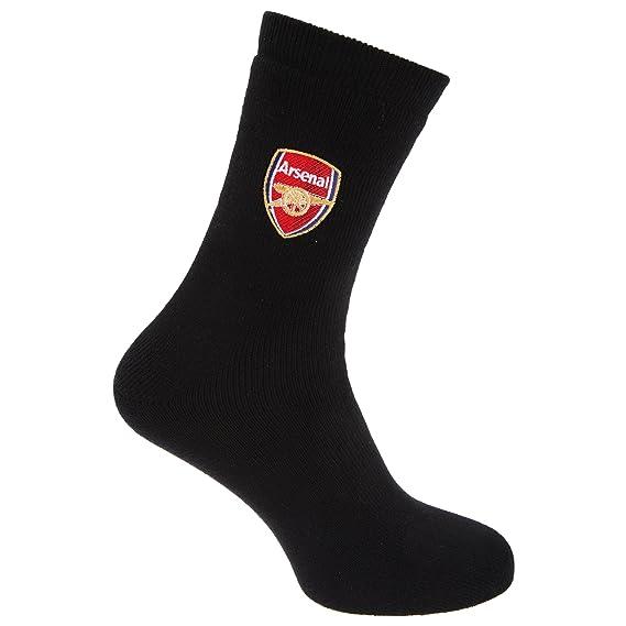 Arsenal FC - Calcetines térmicos oficiales Modelo Crest Fútbol (1 par) (40-
