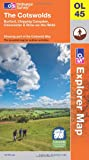 The Cotswolds (OS Explorer Map)
