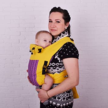 9d61ca9c7cd Amazon.com   Adjustable Mei Tai Baby Carrier Purple   Baby