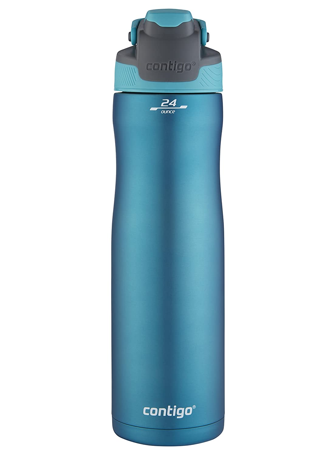 Contigo AUTOSEAL Chill Stainless Steel Water Bottle, 24 oz, Scuba