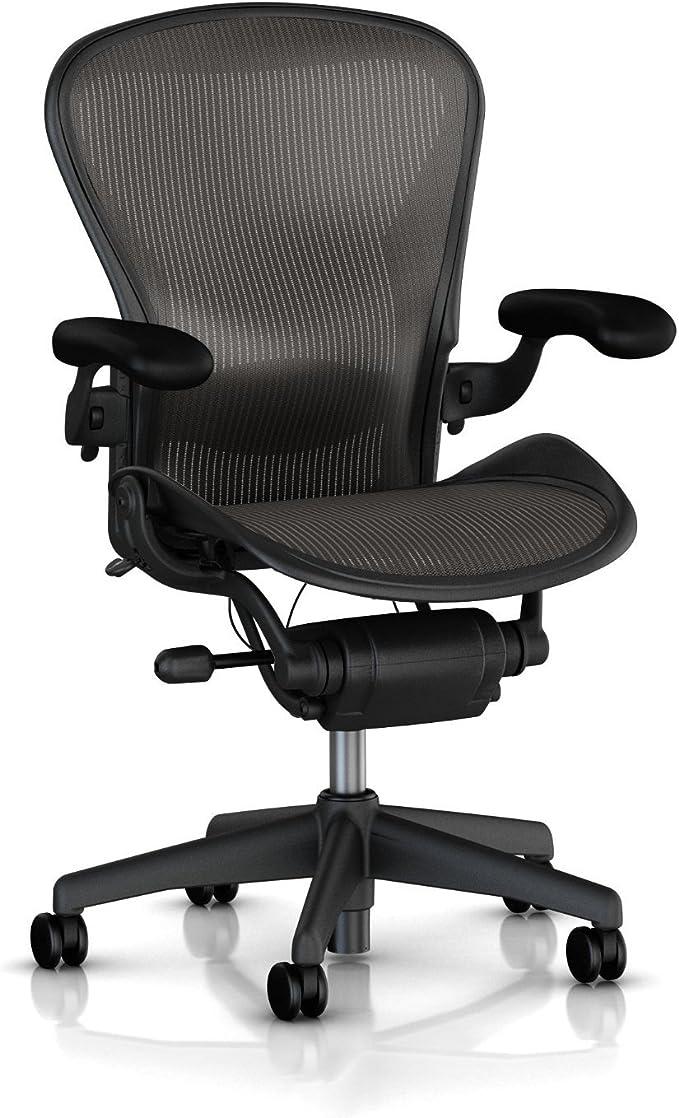 Amazon.com: Herman Miller Classic Aeron Chair-Size B: Furniture & Decor