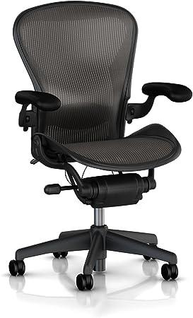 Amazon Com Herman Miller Classic Aeron Chair Size B Lumbar Furniture Decor