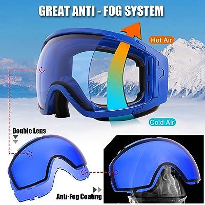 Odoland Snow Ski Goggles