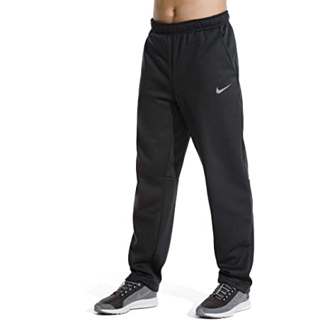 new style 14c31 ade66 Nike Men s Therma Training Pants (Small, Black MTLC Hematite)