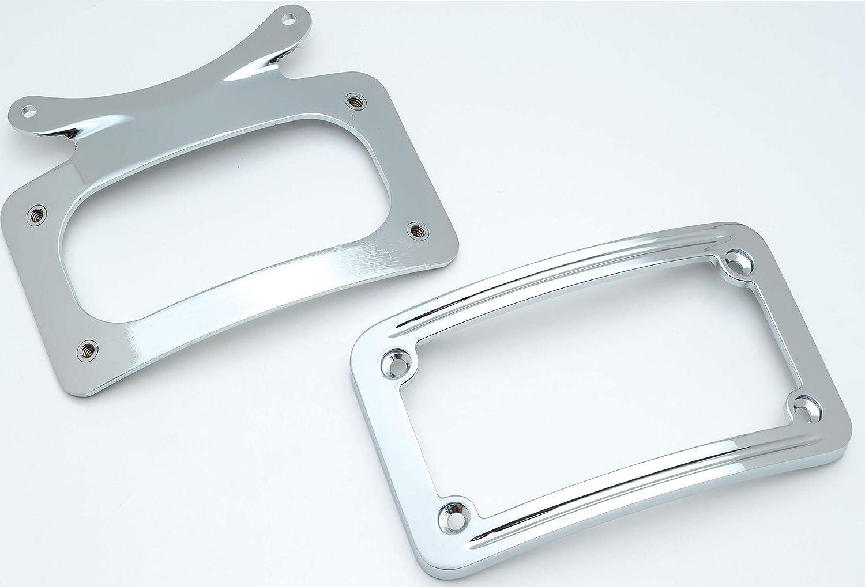 Kuryakyn 3162 Curved License Plate Frame