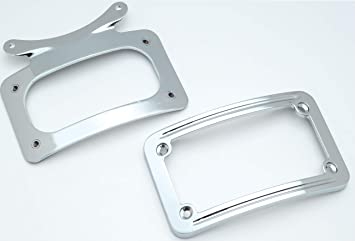 harley davidson motorcycle license plate frame tag motor cycle chrome bike HD