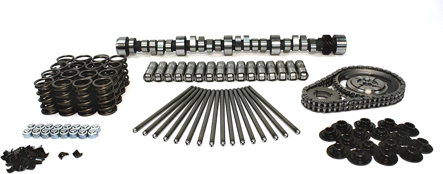 COMP Cams CL08-500-8 XE Computer Controlled 206//212 Hydraulic Roller Cam and Lifter Kit OE Roller SBC