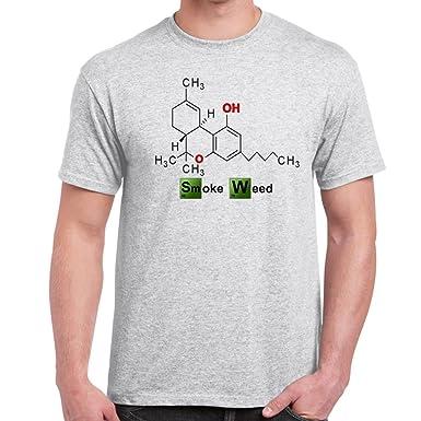 Herren Lustige Spruche Coole Fun T Shirts Rauch Unkraut Gleichung