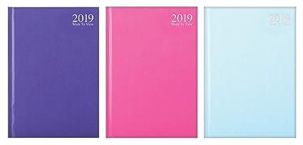 Agenda semainier 2018 format A5 avec couverture rigide ...