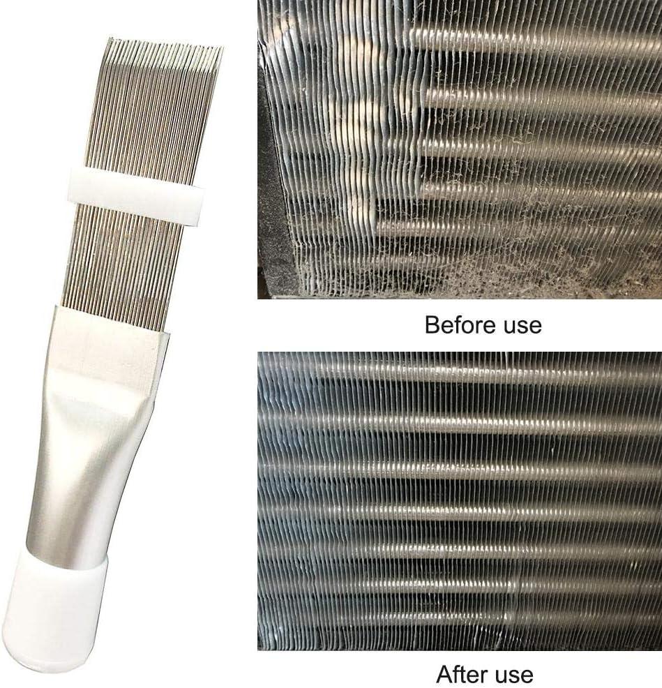 10 Stücke Kunststoff Lamellenglätter Reiniger Kühler Lamellenkamm Klimaanlage