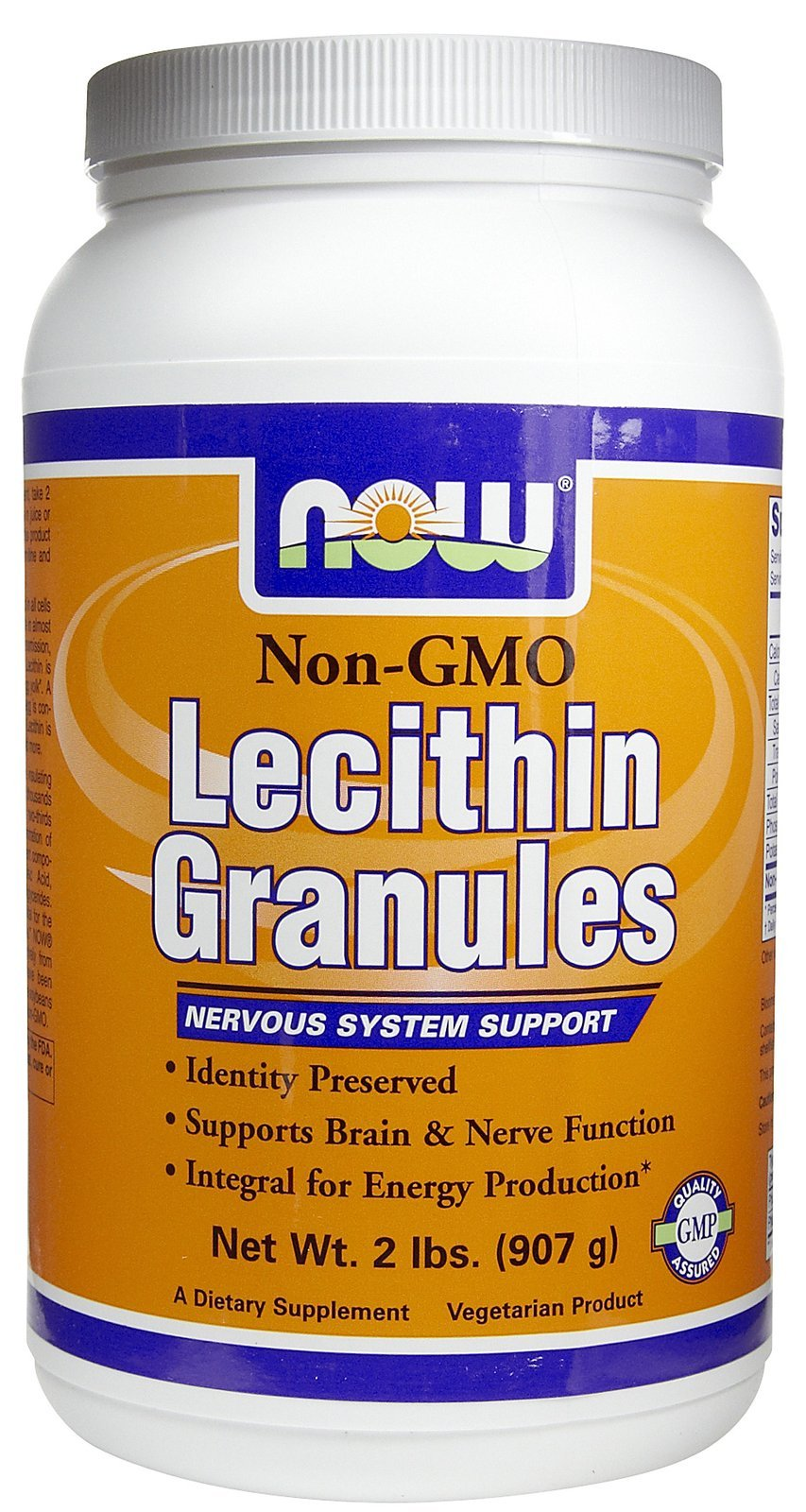 Lecithin, GRANULES NON-GMO, 2 Lb by Now Foods (Pack of 3)