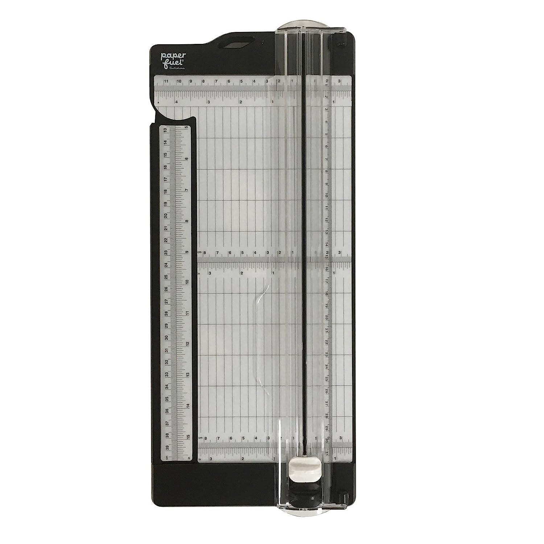 Paperfuel pf104001taglio e Scoring board, Plastica/Metallo, Trasparente, 30,5x 11,4x 4,5cm
