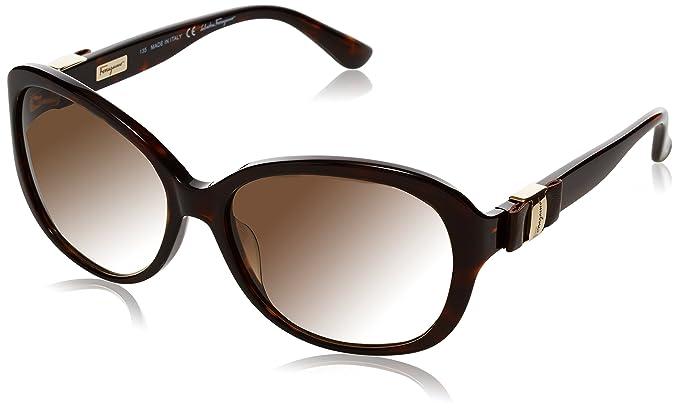 d7ec9882832 Salvatore Ferragamo Women s SF658SL Oversized Sunglasses