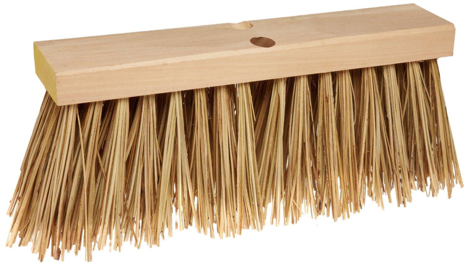Rubbermaid Commercial  Street Broom Head, Palmyra, 16'', FG9B2200BRN by Rubbermaid Commercial Products