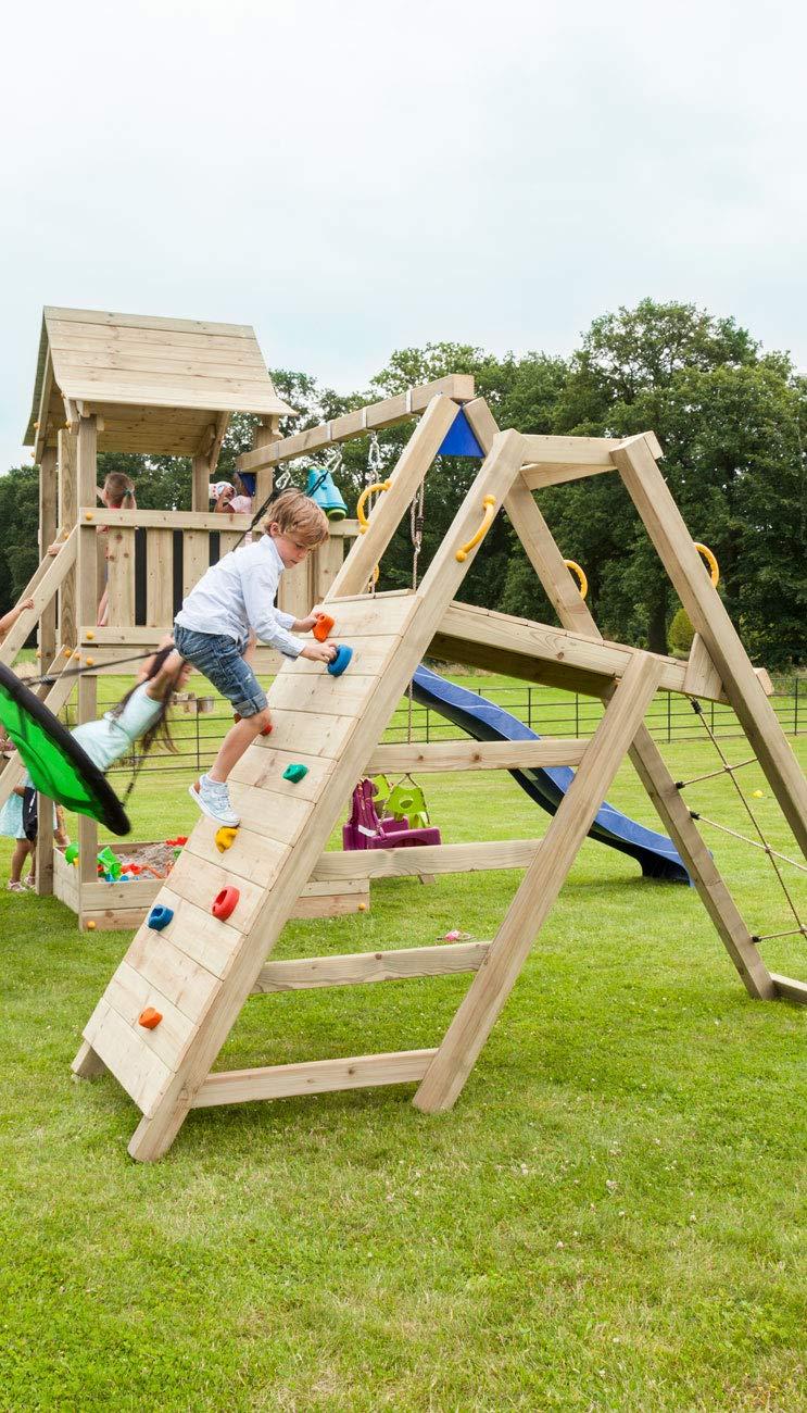 MASGAMES Parque Infantil Torre Pagoda XL con @Challenger: Amazon.es: Juguetes y juegos