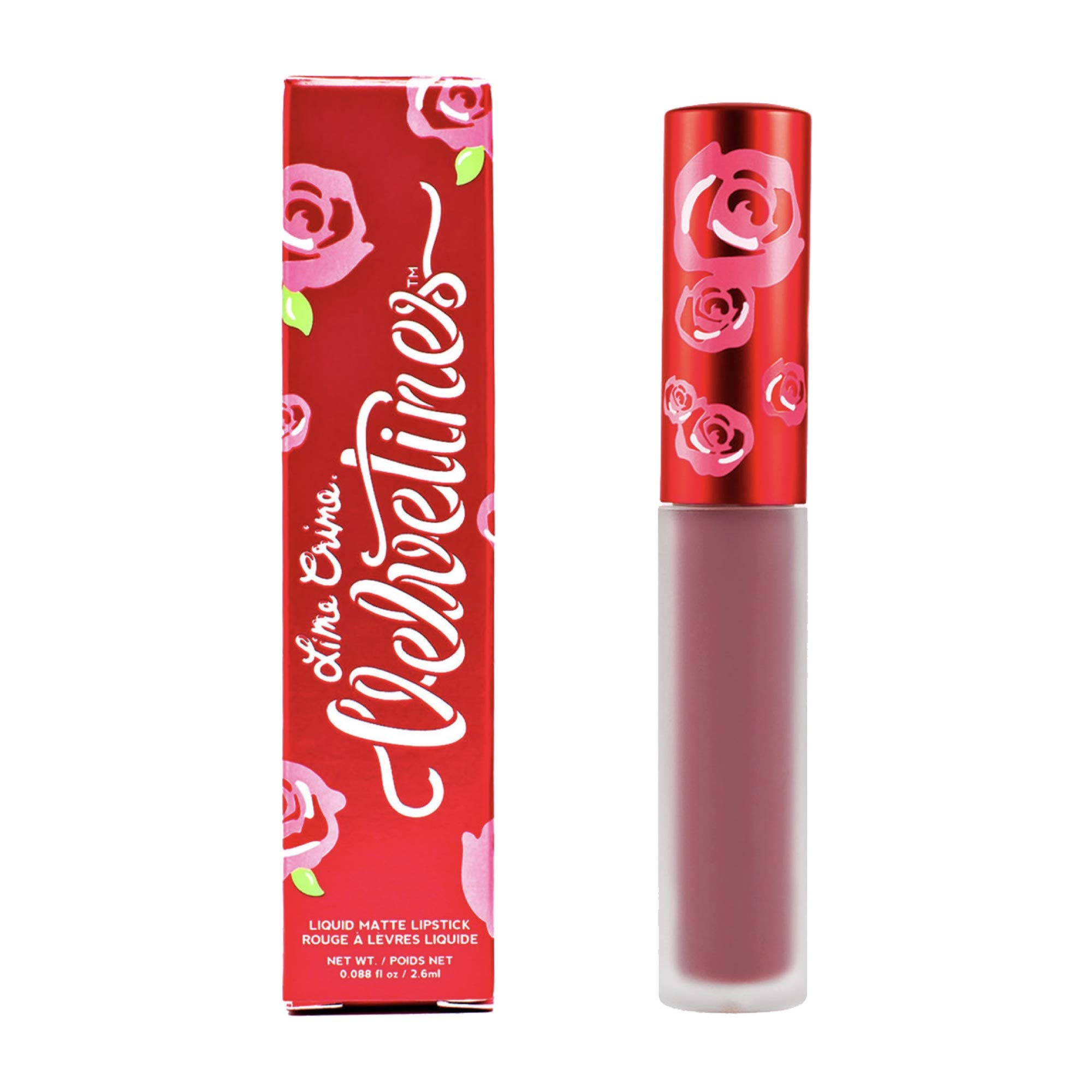 Lime Crime Velvetines Liquid Matte Lipstick, Sasha - Toasted Rose - French Vanilla Scent - Long-Lasting Velvety Matte Lipstick - Won't Bleed or Transfer - Vegan